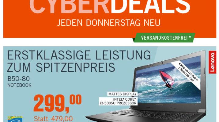 CyberDeals - Kameras, Notebooks, uvm.